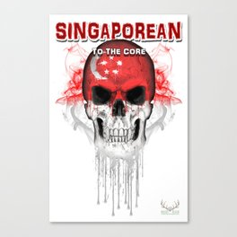 To The Core Collection: Singapore Canvas Print