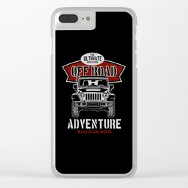the ultimate off road Clear iPhone Case