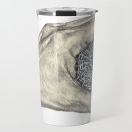 There is a Spider Web in My Hand Art Travel Mug