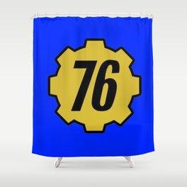 Vault 76 Shower Curtain