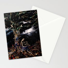 Language of the Forest Stationery Cards