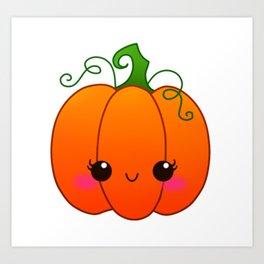 Little Pumpkin Art Print