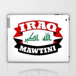 Iraq My Homeland Banner Laptop & iPad Skin