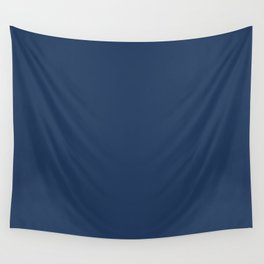 """""""Navy Peony"""" pantone color Wall Tapestry"""