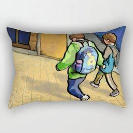 Brothers Rectangular Pillow