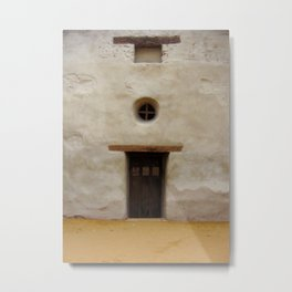 Capistrano Mission Doorway Metal Print