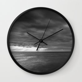 Clearing Light Wall Clock