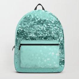 Summer Vibes Glitter #7 #mint #shiny #decor #art #society6 Backpack
