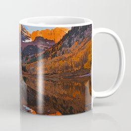 The Wonderful Maroon Bells in Autumn Coffee Mug