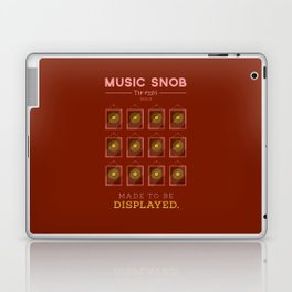 Made to be Displayed — Music Snob Tip #33⅓ B Laptop & iPad Skin