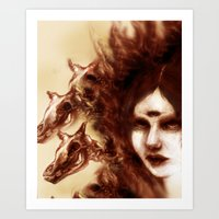 Three Fevers Art Print