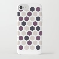 honeycomb iPhone & iPod Cases featuring Honeycomb by LONEWLF