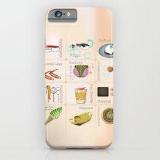 Japanese Food Slim Case iPhone 6s