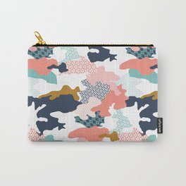Colorful Camouflage Carry-All Pouch