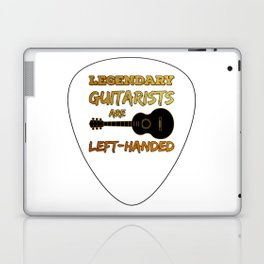 Left-handed Guitar Pick Plectrum Guitarist Lefty Laptop & iPad Skin