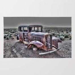 Rusting in the desert Rug
