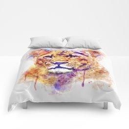 Lioness Head Comforters