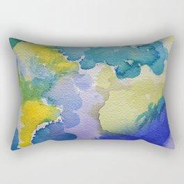 I dream in watercolor A Rectangular Pillow