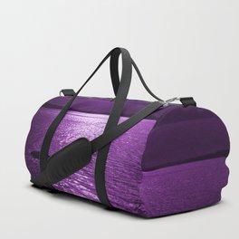 Ultraviolet Lakescene Scandinavian View #decor #society6 #homedecor Duffle Bag
