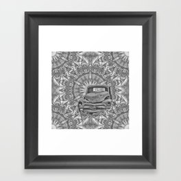 Running out of time Framed Art Print
