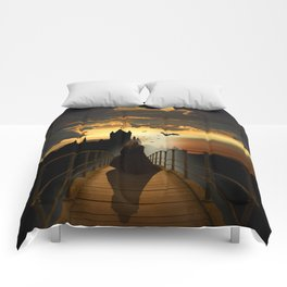 The monk Comforters