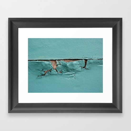 Too Much Paint Framed Art Print