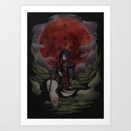 Uchiha Madara Art Print