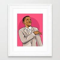 mcfreshcreates Framed Art Prints featuring Easter Pink by McfreshCreates