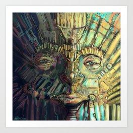 Full Metal Pharaoh  Art Print