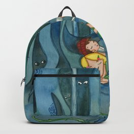 Hansel and Gretel  In The Woods Backpack