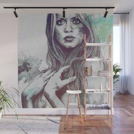 Gloria: Blue Wall Mural