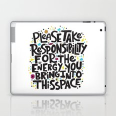 TAKE RESPONSIBILITY Laptop & iPad Skin