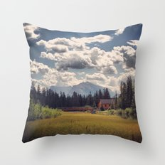 Mountain Watershed Throw Pillow