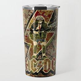 AC/DC angus young Travel Mug