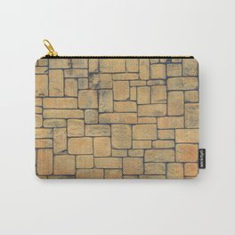 Masonry Stone Cladding Wall Carry-All Pouch