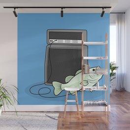 I PLAY BASS Wall Mural
