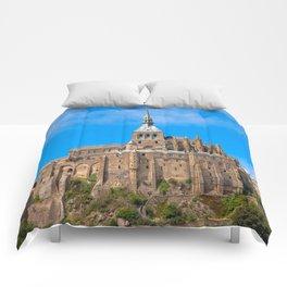 Mont Saint-Michel Comforters