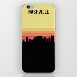 Nashville Skyline iPhone Skin