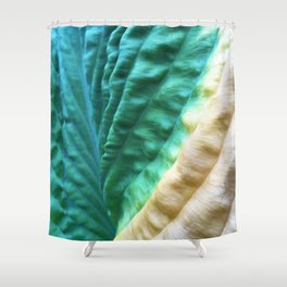 Abstract 90 Shower Curtain
