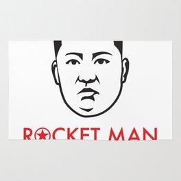 """Rocket Man"" Kim Jong-un Rug"