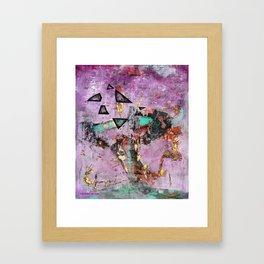 Dysfunction (oil on canvas) Framed Art Print