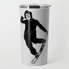 Gnarly Chaplin Travel Mug