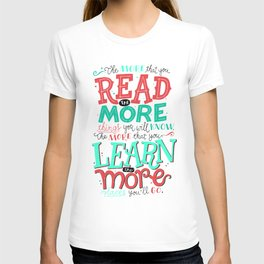 Read More Learn More T-shirt