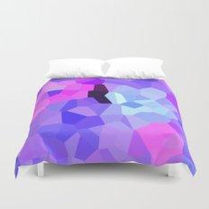 Purple Pink Amethyst - See Leggings! Duvet Cover