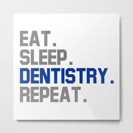 Dentistry Metal Print