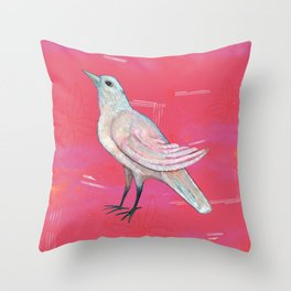 Song of the Dove Throw Pillow