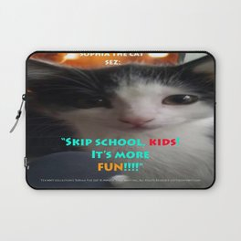 Sophia The Cat # 4 [Tex's Owner] Laptop Sleeve