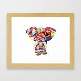 Emil Elephant Framed Art Print
