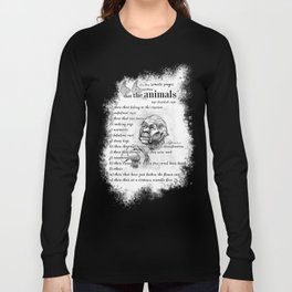 Borges' taxonomy Long Sleeve T-shirt