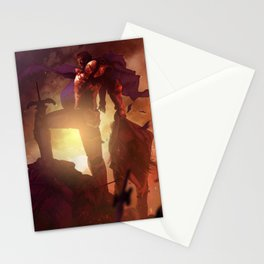 Luca Blight the Beast of Suikoden II Stationery Cards